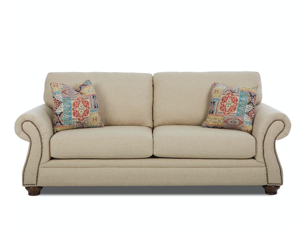 Klaussner living room winn k53910 s feceras furniture for K furniture mattress