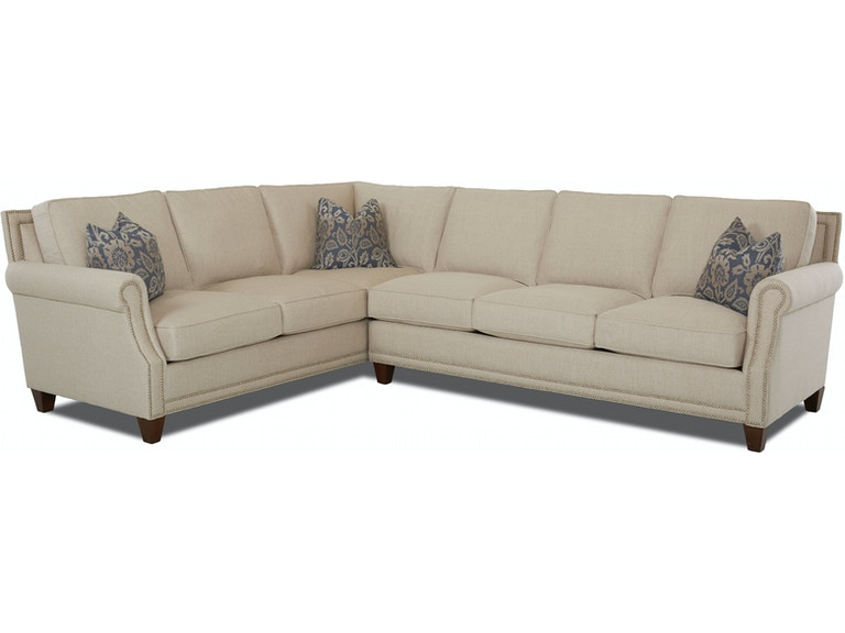 Klaussner #D58710 SECT York Sectional | INTERIORS | Camp Hill ...