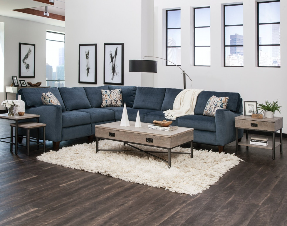 Klaussner 19303 Sectional Colleen Sectional Interiors Camp Hill Lancaster