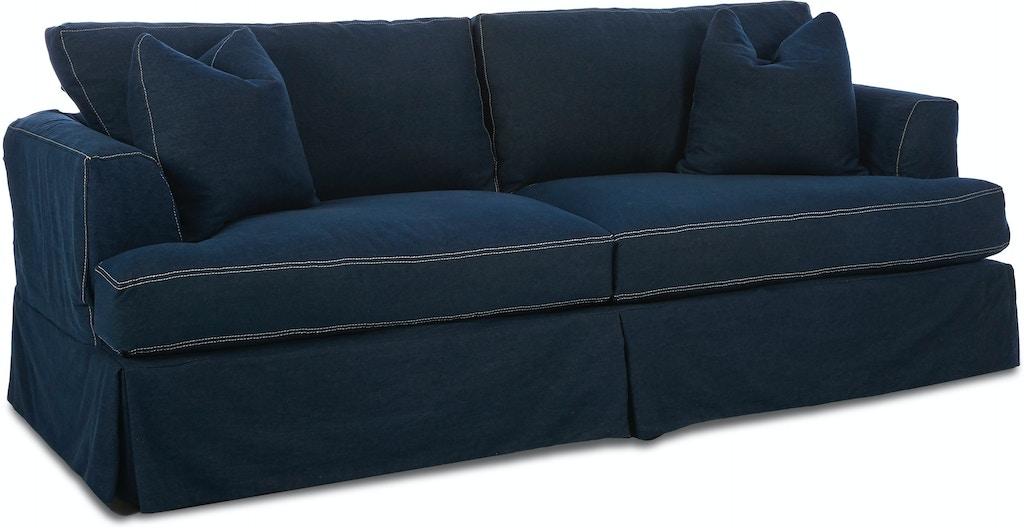 Klaussner Living Room Bentley Slipcover D92190 S Sofas