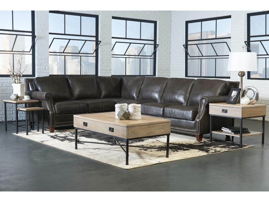 Klaussner Living Room York Sectional Ltd58710 Sect