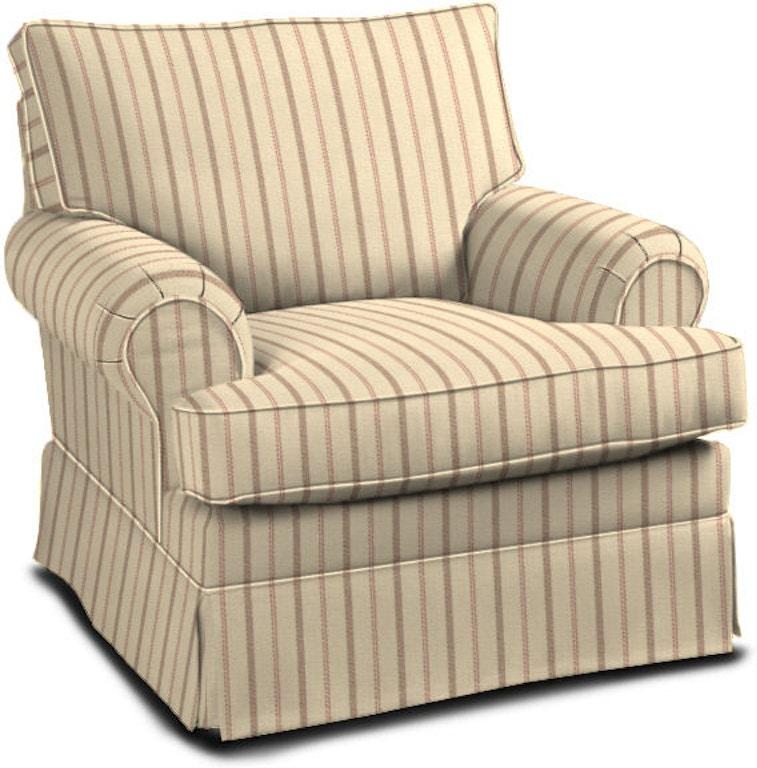 Miraculous Klaussner Living Room Carolina Chair 750M C Sofas Machost Co Dining Chair Design Ideas Machostcouk
