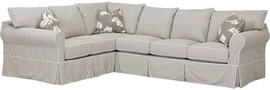 Klaussner Living Room Jenny Slipcover D16100 Fab Sect
