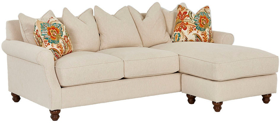Klaussner Living Room Tifton D Sectional Klaussner Home
