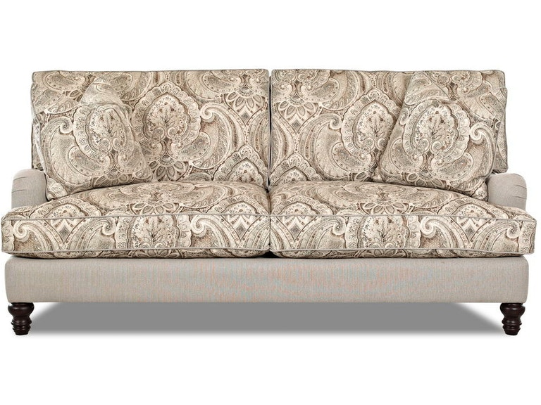 Klaussner Living Room Loewy D40920 S At Tip Top Furniture
