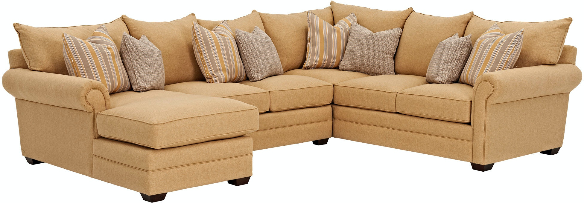 Klaussner Living Room Huntley D Sectional Klaussner Home
