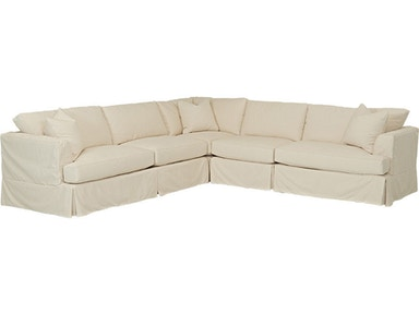 Simple Elegance Bentley Slipcover D92100-FAB-SECT