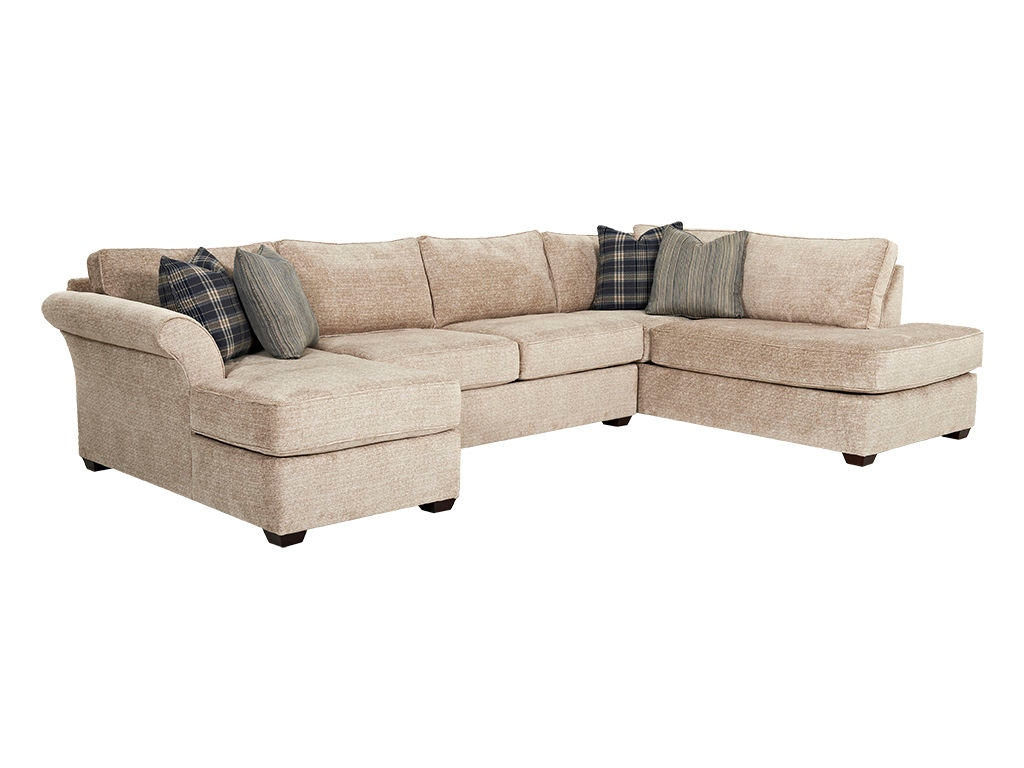 Klaussner Living Room JAXON K15700 SECT - High Country Furniture u0026 Design - Waynesville ...