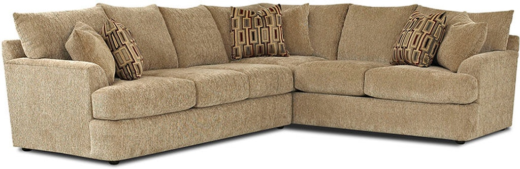 Klaussner Living Room Findley K56830-FAB-SECT