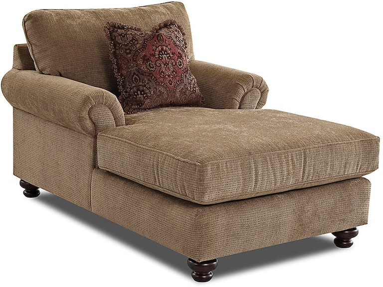 Klaussner Living Room Greenvale Chaises K73500f Chase