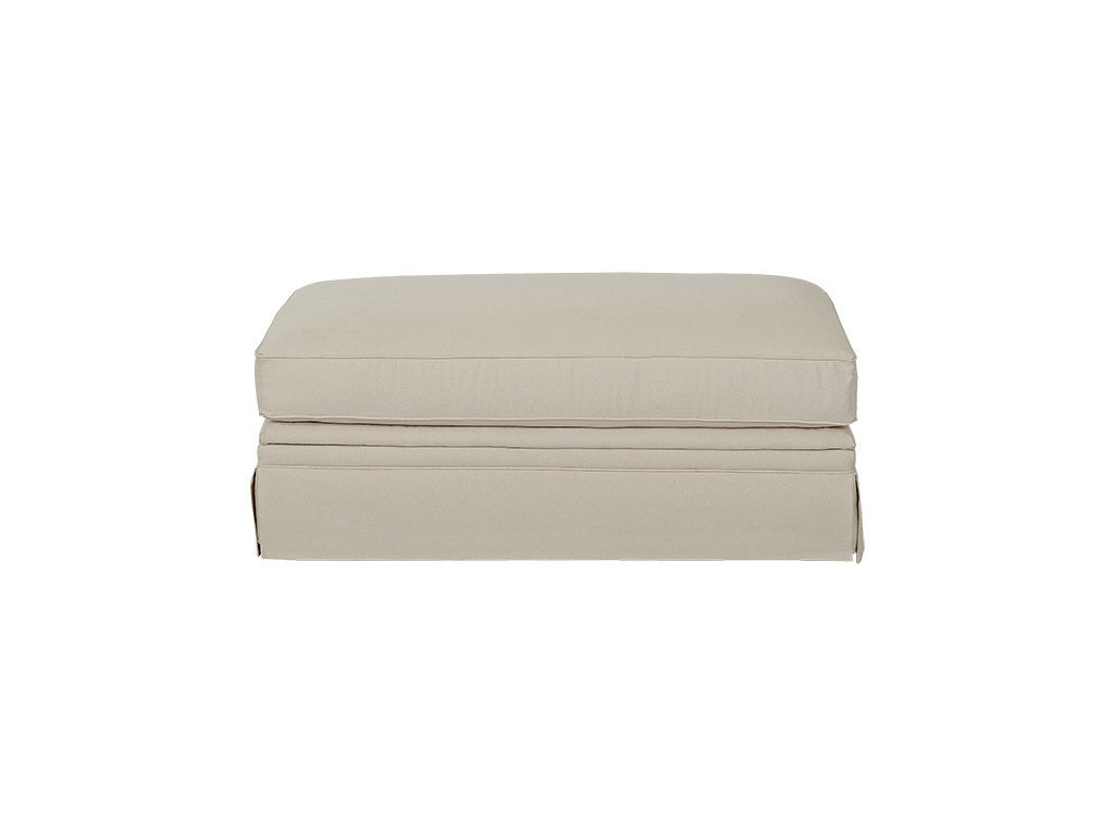 Accent Arm Pillows Are Enrobed With Contrasting Welt While Tossing  Beautiful Tones Of Co Ramona Storage Ottoman K81600 STGOT Klaussner