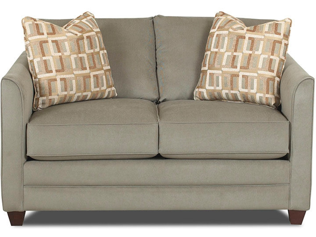 Enjoyable Benchcraft Living Room Aldie Nuvella Loveseat 6870235 Cjindustries Chair Design For Home Cjindustriesco