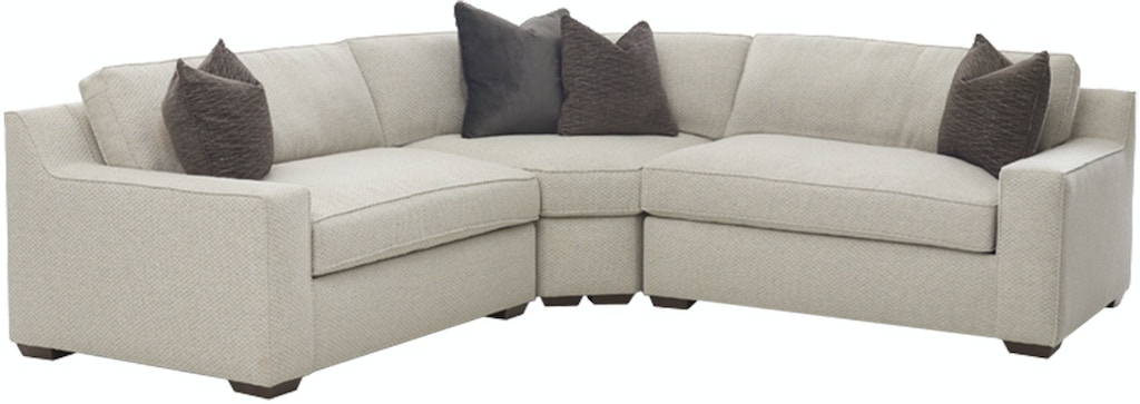 Klaussner Living Room Becks Sectional Kd84900 Sect