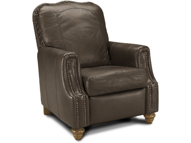 Remarkable Klaussner Living Room Gabby High Leg Recliner With Leather Bralicious Painted Fabric Chair Ideas Braliciousco