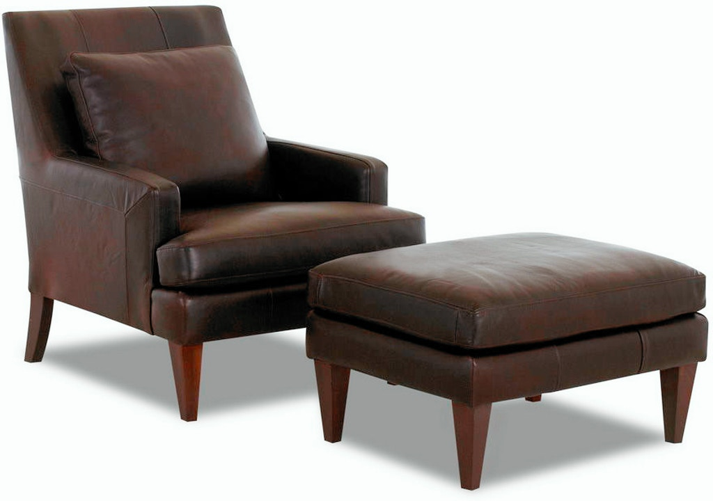 Admirable Klaussner Living Room Townsend Ottoman W Lthr Ld11000 Otto Ocoug Best Dining Table And Chair Ideas Images Ocougorg