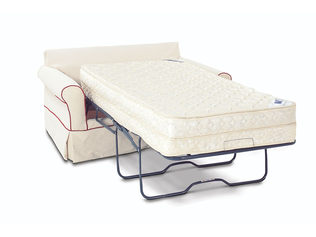 Rowe Living Room Somerset Twin Sleeper WSlipcover 7679T Tyndall Furniture amp Mattress