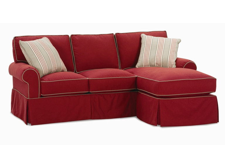 Rowe Living Room Hermitage Sofa Chaise 7885 Wholesale Furniture Cookeville Tn