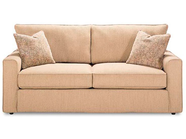 Rowe Living Room Pesci Two Cushion Queen Bed Sofa A309q