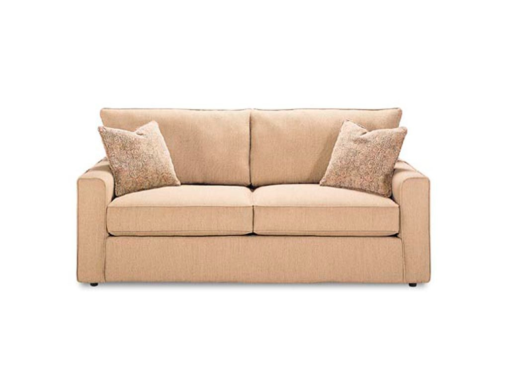 Charmant Pesci Two Cushion Queen Bed Sofa