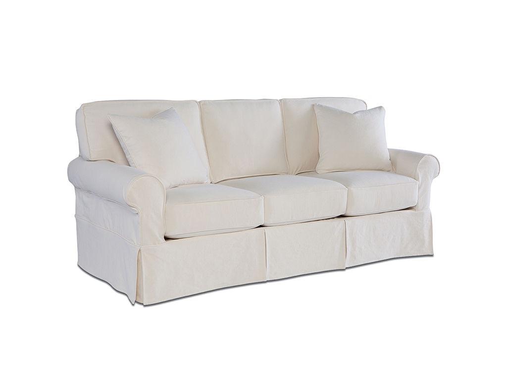 Rowe Living Room Nantucket 3 Seat Sofa W Slipcover A910 At Rowe