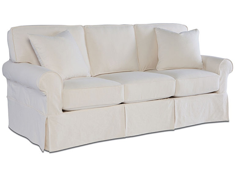 Rowe Living Room Nantucket 3-Seat Sofa W/Slipcover A910 - Flemington ...