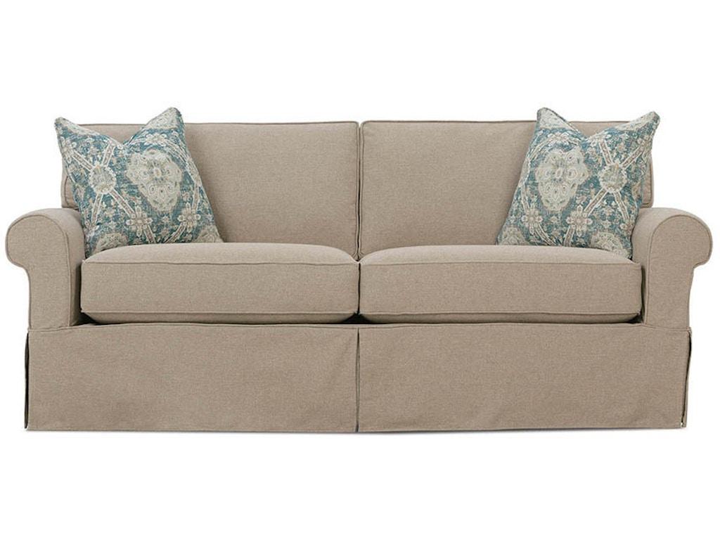 Rowe Living Room Nantucket Two Cushion Sofas Tyndall