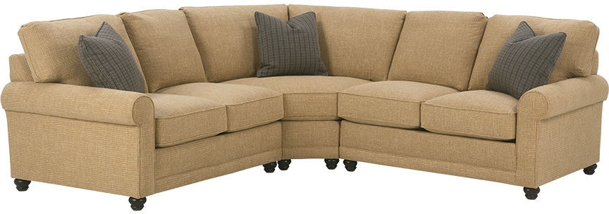 Rowe Living Room My Style Sectional Brownlee S Furniture