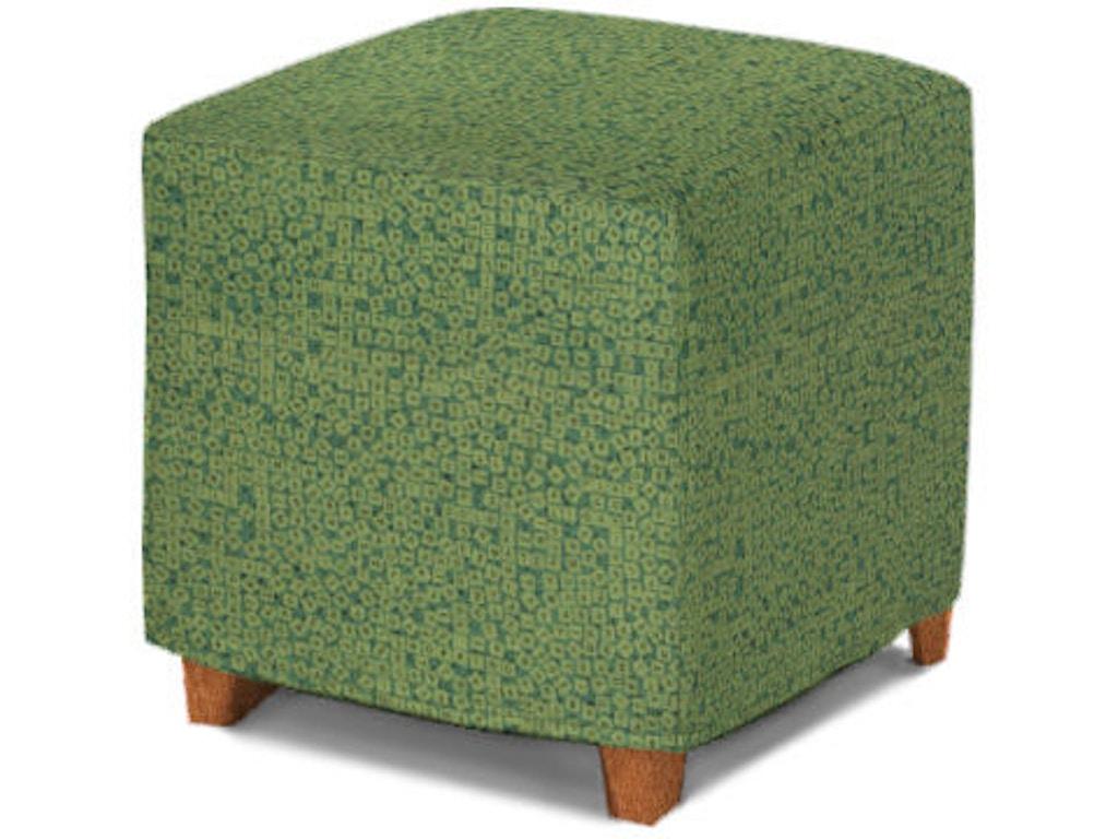 Rowe Living Room Le Parc Cube Ottoman Slip Only C202s