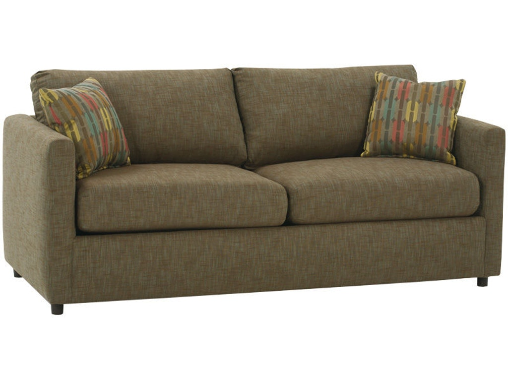 Rowe Living Room Stockdale Two Cushion Queen Sofa Bed