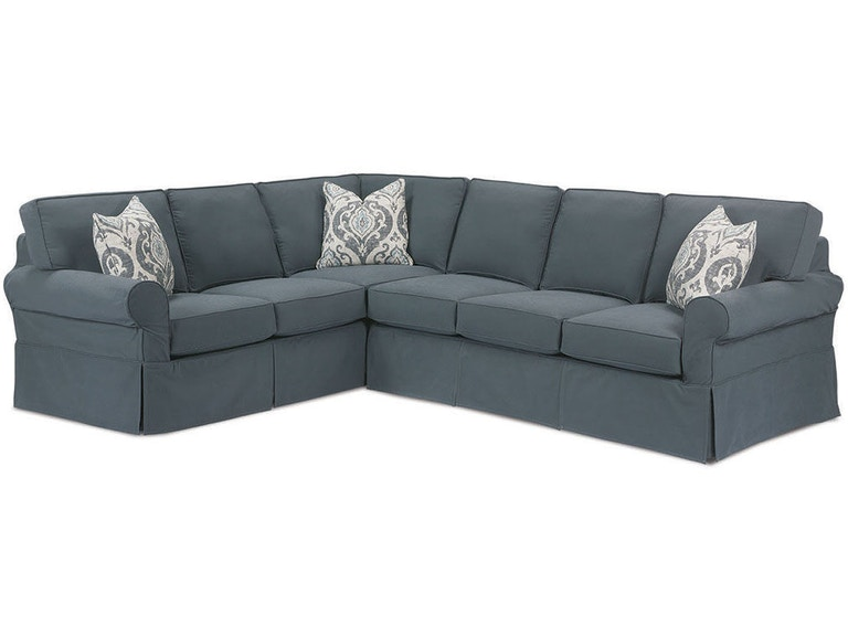 Rowe Masquerade Sectional Slipcover C396 Sect
