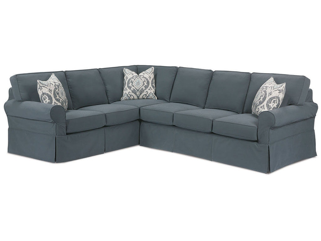 Attirant Rowe Masquerade Sectional Slipcover C396 Sect
