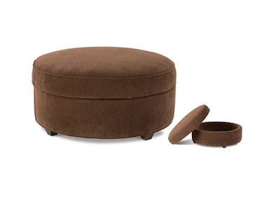 CKD Silver Eero Storage Cocktail Ottoman F49