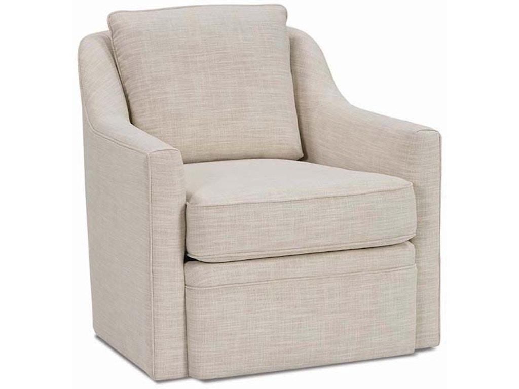 Rowe Living Room Hollins Swivel Chair H201CC - Flemington ...
