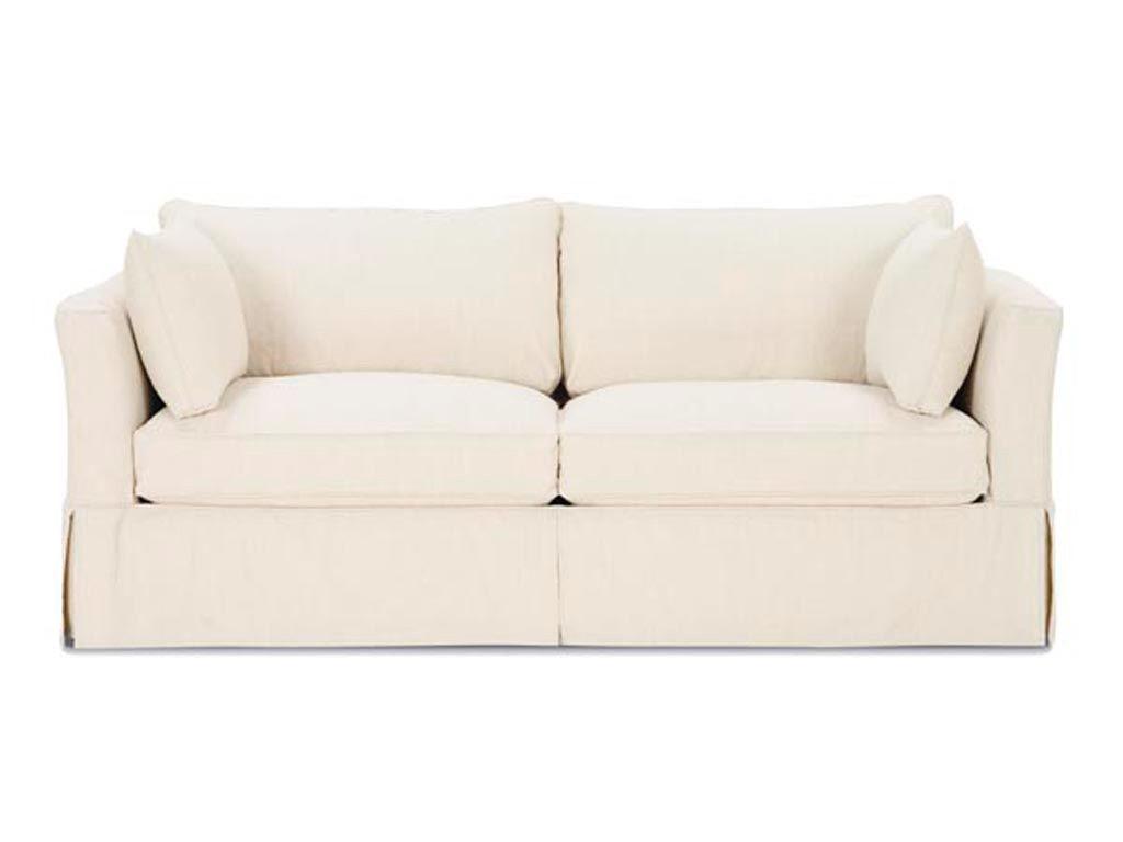Rowe Living Room Darby Sofa W Slipcover H230 Shumake