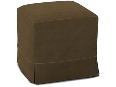 Rowe Parker Cube Ottoman W/Slipcover