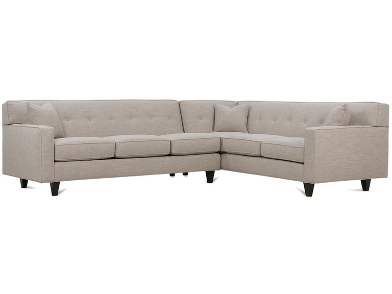 Rowe Living Room Dorset Sectional K520 Sect Hamilton Sofa