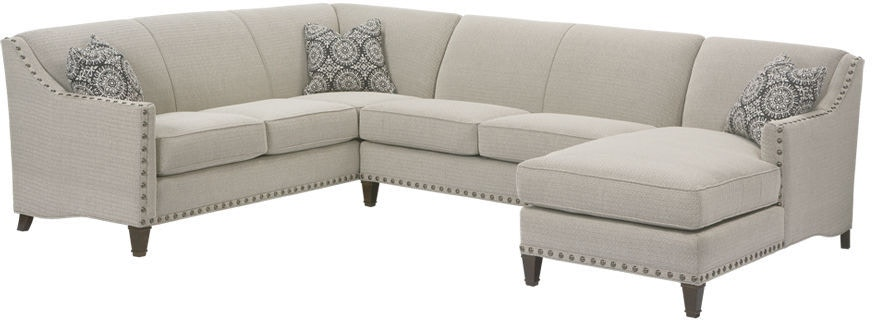 Rowe Living Room Rockford Sectional K580 Sect Wholesale