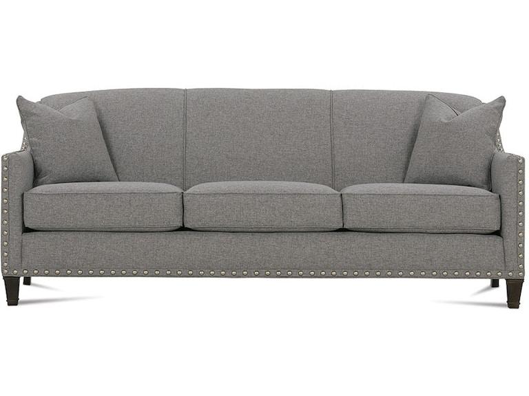 Rowe Living Room Rockford Sofa With Nailhead K580q