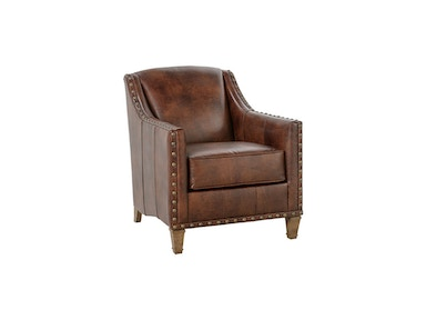 INTRO Preston Chair - Leather with Nailhead Preston-L-N-000