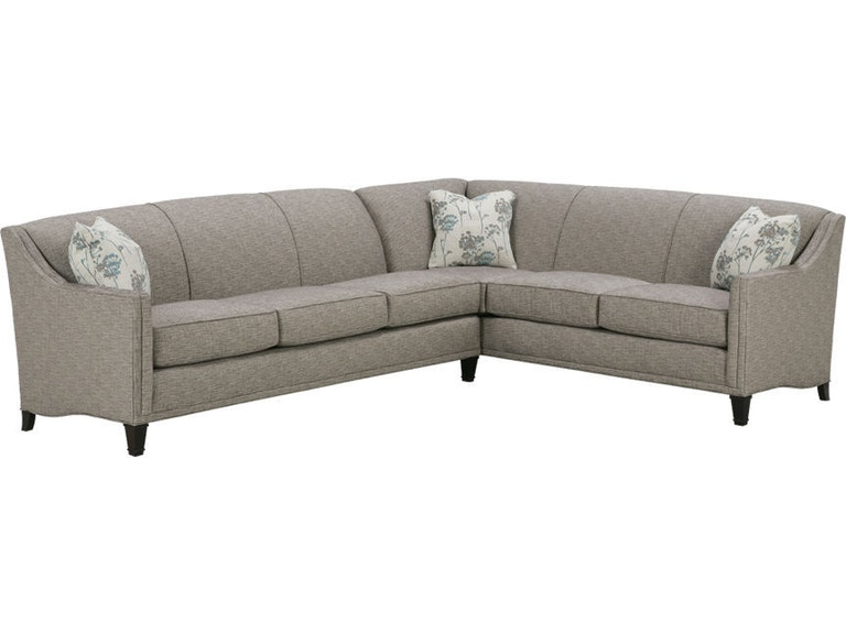 Rowe living room gibson sectional k590 sect matter - Living room furniture fort myers fl ...