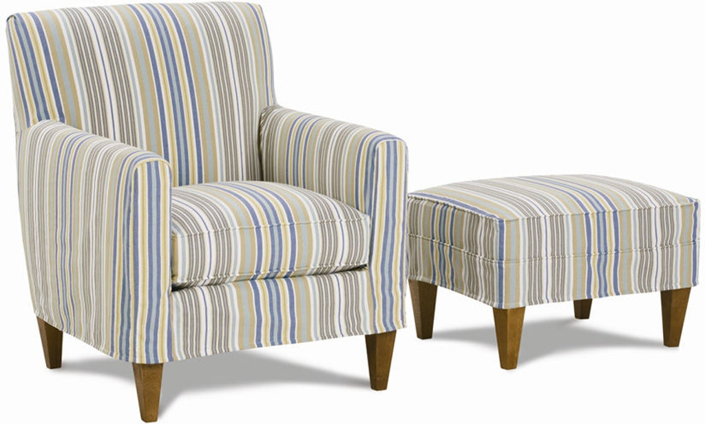 Rowe Living Room Ellery Accent Chair W/Slipcover K751 ...