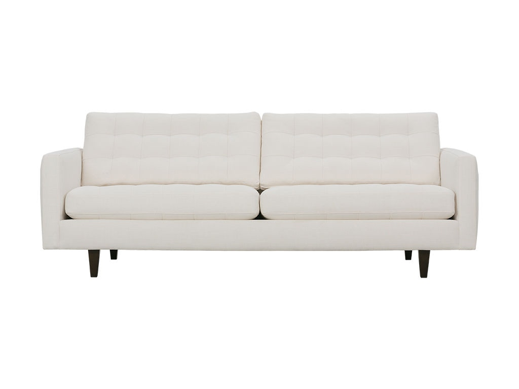MD120 2C 002. Rowe Modern Mix Biscuit Back Sofa