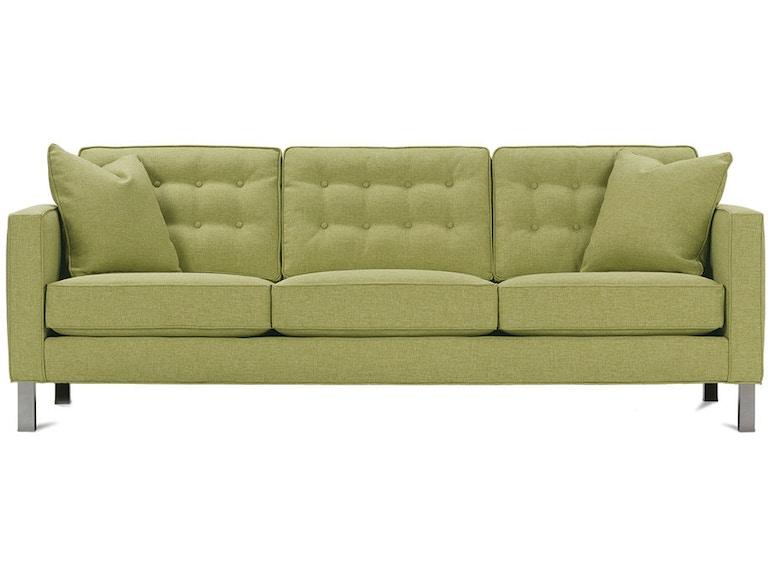 Living Room Abbott Sofa Chrome Leg