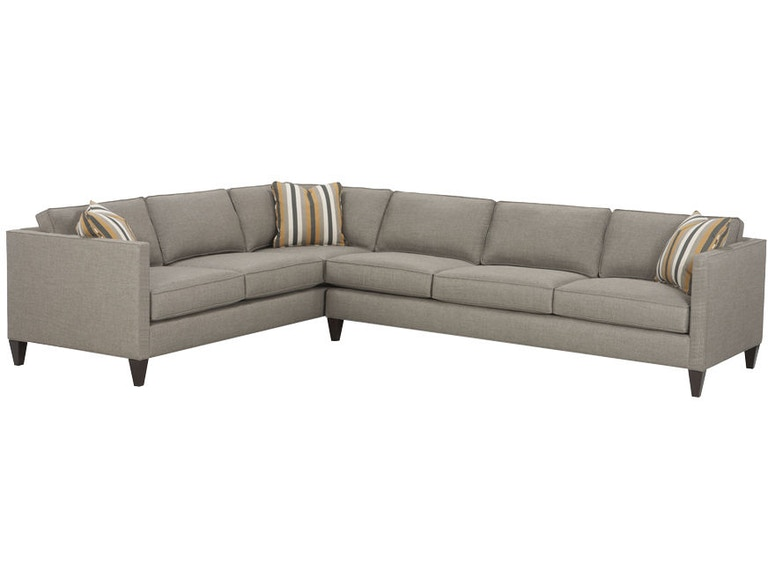 Sensational Rowe Living Room Mitchell Sectional N220 Sect Strobler Machost Co Dining Chair Design Ideas Machostcouk
