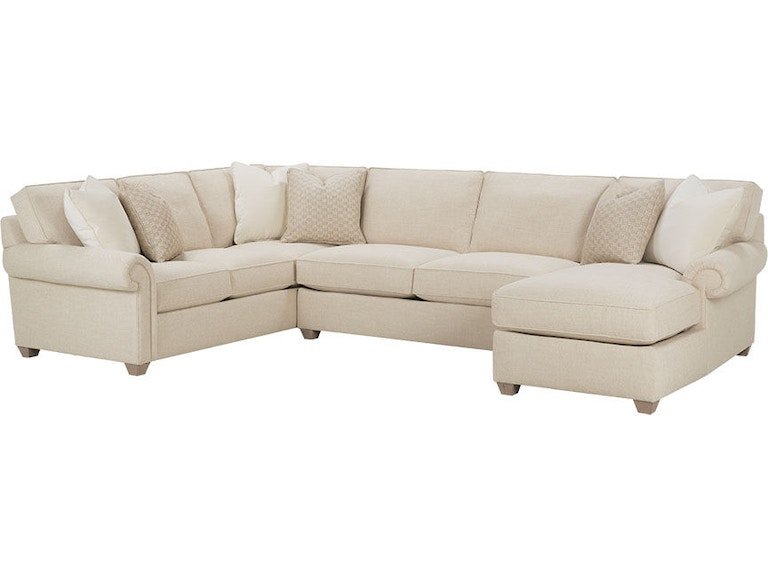 Rowe Living Room Morgan Sectional N700 Sect Bowen Town
