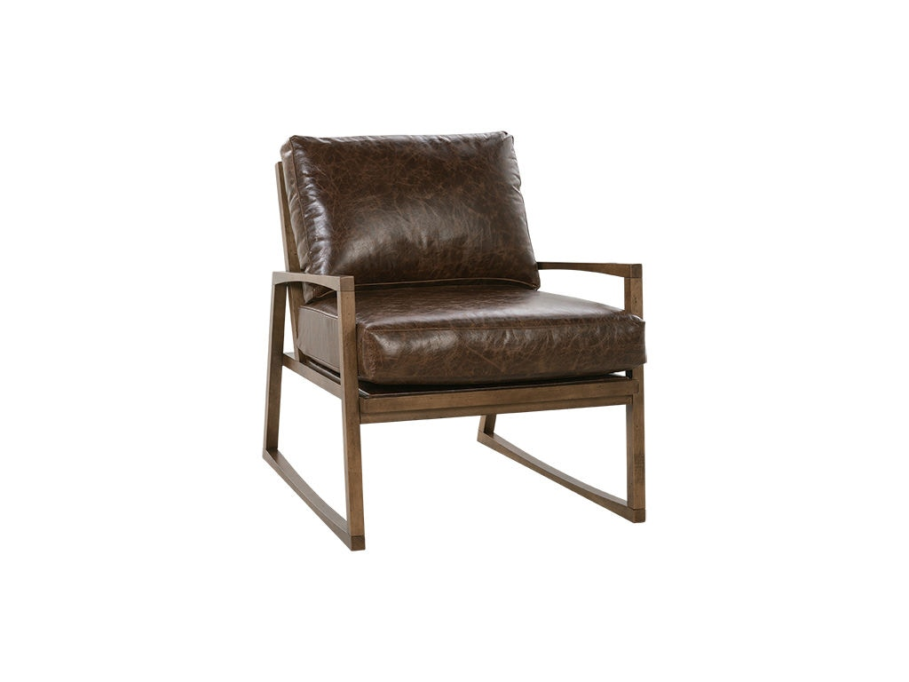 Rowe Beckett Leather Accent Chair N930 L 006