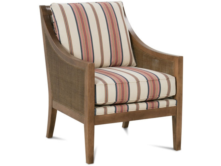 Rowe Living Room Finley Cane Chair N960 006 Hickory