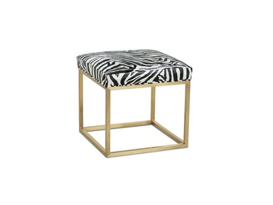 CKD Silver Percy Chrome Or Gold Cube Table