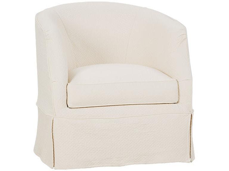 Rowe Living Room Ava Swivel Chair W/Slipcover P155-016 ...