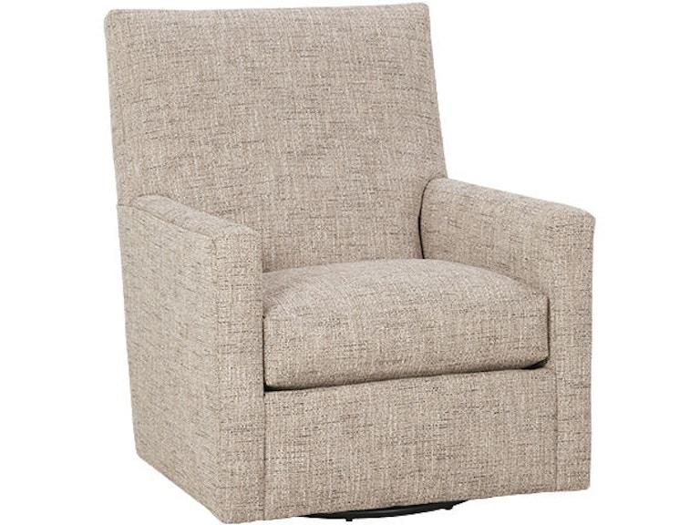 Rowe Living Room Carlyn Swivel Glider Chair P Bernhaus - Swivel glider chairs living room